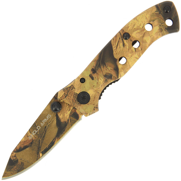 Anglo Arms Lock Knife - Camo