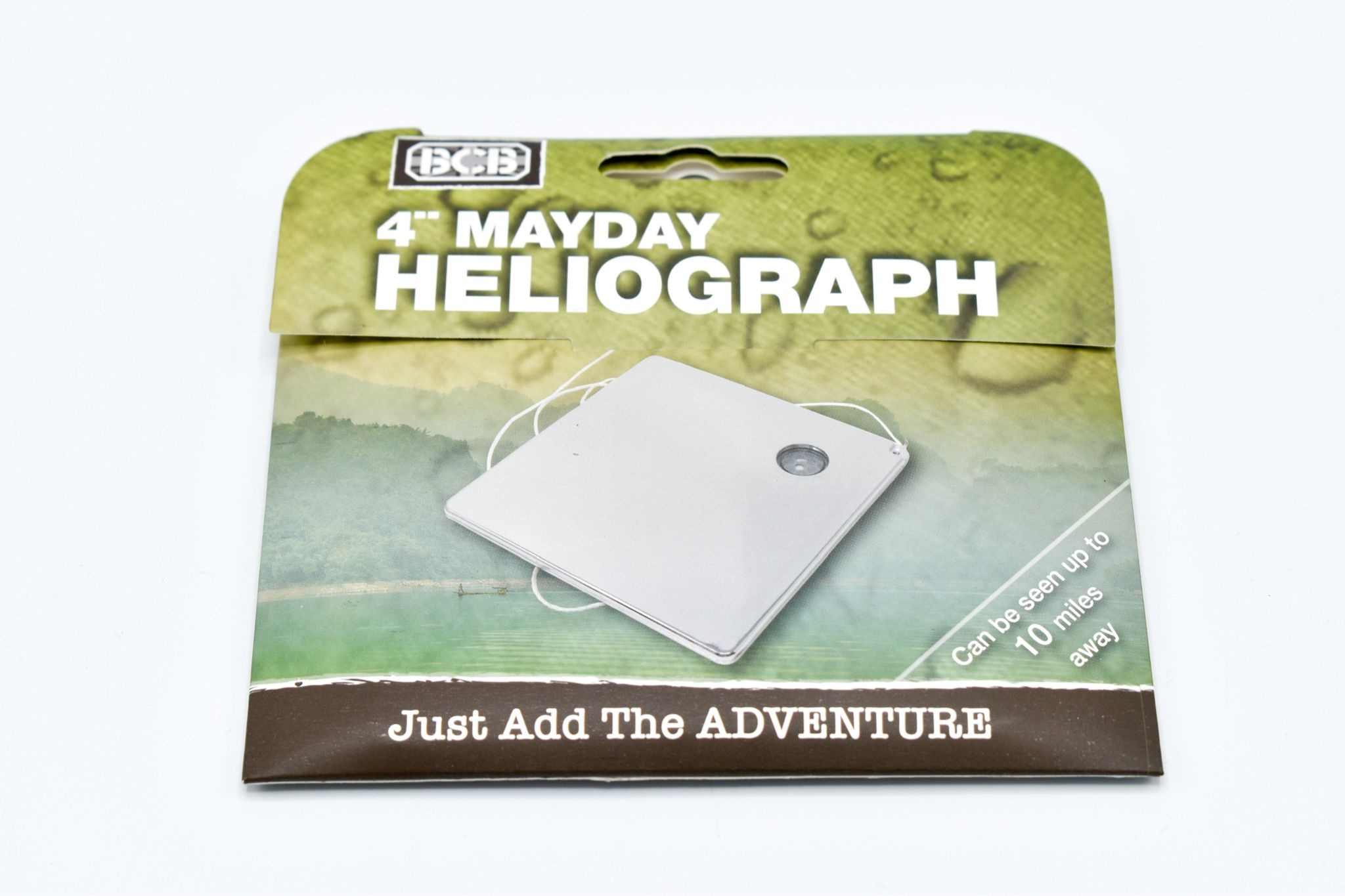 "BCB 4"" Mayday Advanced Signal Mirror"