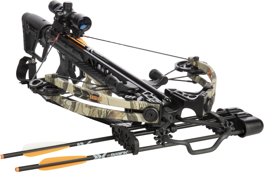 Bear Archery X Saga 405 210lb Compound Crossbow Kit