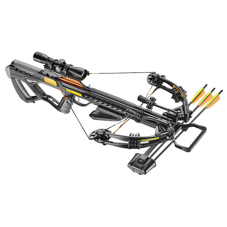 EK Archery 185lb Guillotine M+ Compound Crossbow Kit