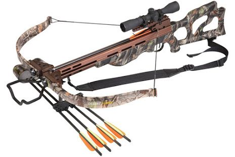 EK Archery 225lb Desert Hawk Recurve Crossbow Kit