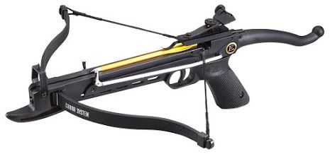 EK Archery Cobra 80lb Self Cocking Pistol Crossbow