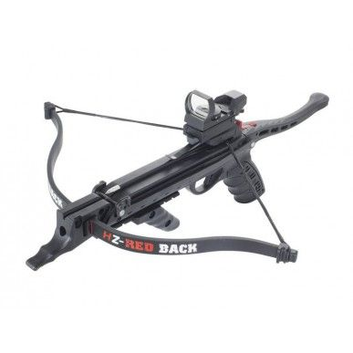 Hori-Zone 80lb Redback Deluxe Pistol Crossbow Kit - With Red Dot Sight