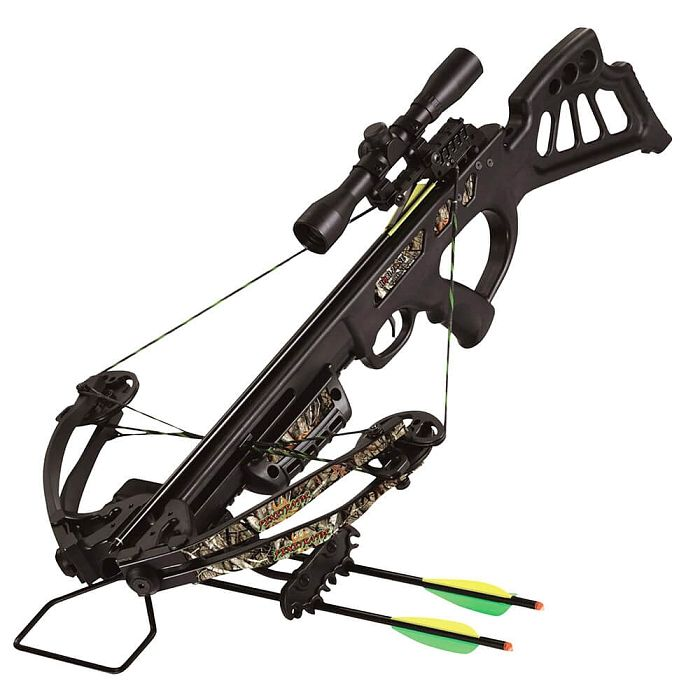 Hori-Zone Penetrator 165lb Compound Crossbow Package