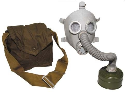 Kids Soviet Russian Gas Mask Amp Bag