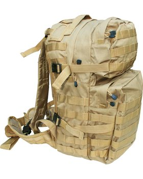 Kombat UK Assault 40 Litre Molle Bag - Coyote