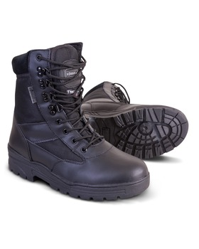 Kombat UK Patrol Boots - Half Leather With Thinsulate Lining