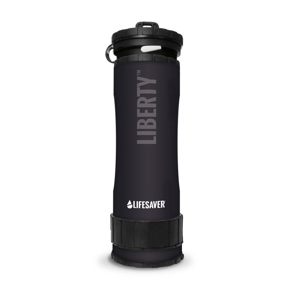 Lifesaver Liberty Water Bottle - Black