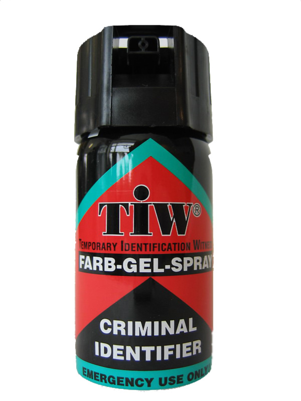 Tiw Farbgel Criminal Identifier Spray Self Defense Spray
